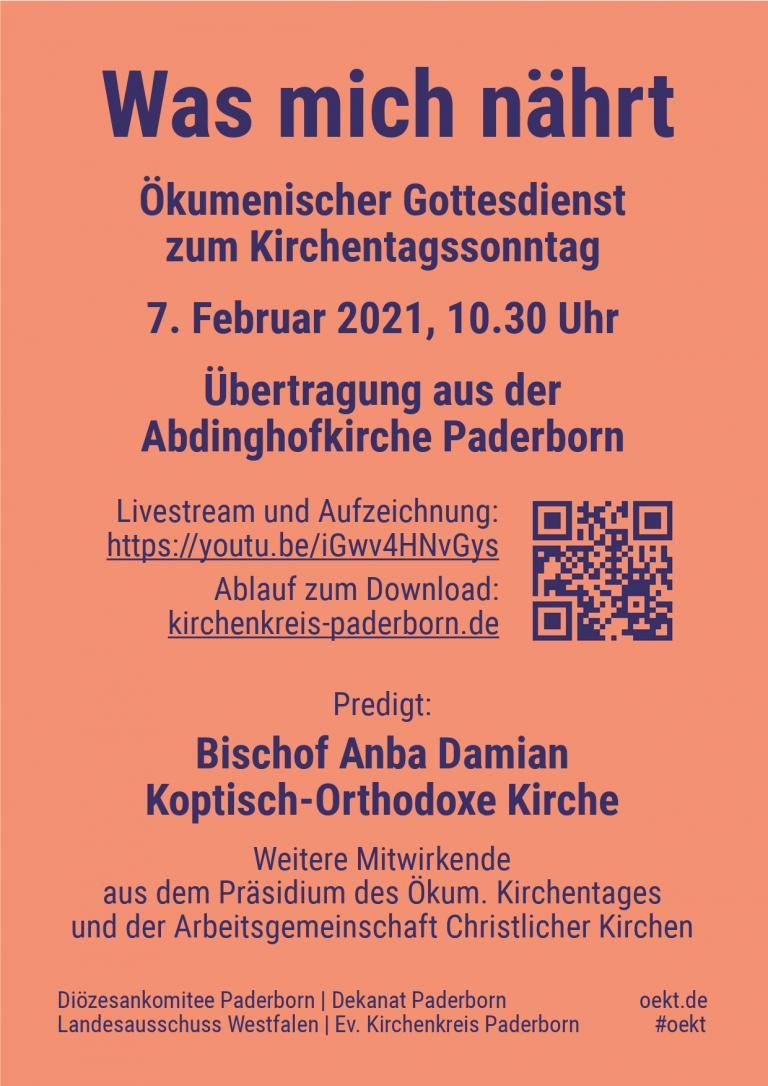 Wegweiser zu einem großen Fest: Kirchentagssonntag am 7. Februar