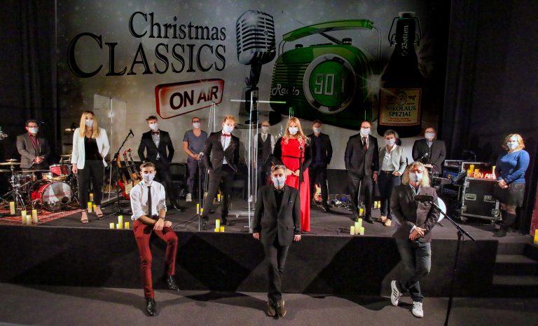 Christmas Classics on air. Das Radiokonzert zum Nachhören