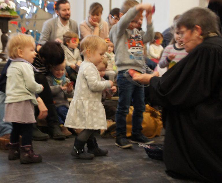 Krabbelgottesdienst in der Christuskirche