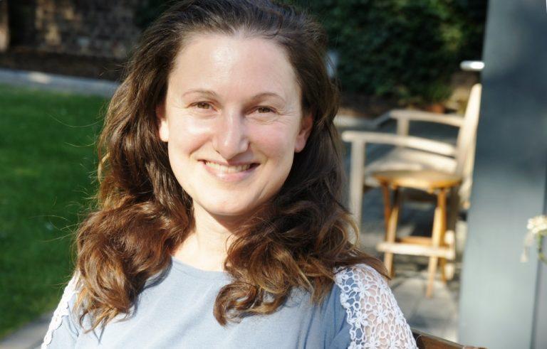 Im Gespräch: die neue Mitarbeiterin im Wichernhaus