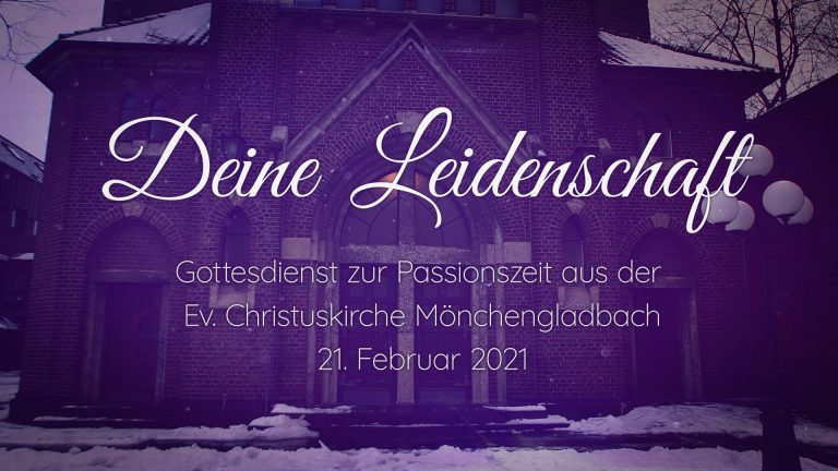 Einladung zum Online-Gottesdienst