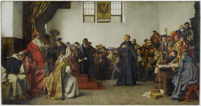 Vor 500 Jahren: Luther auf dem Wormser Reichstag 1521
