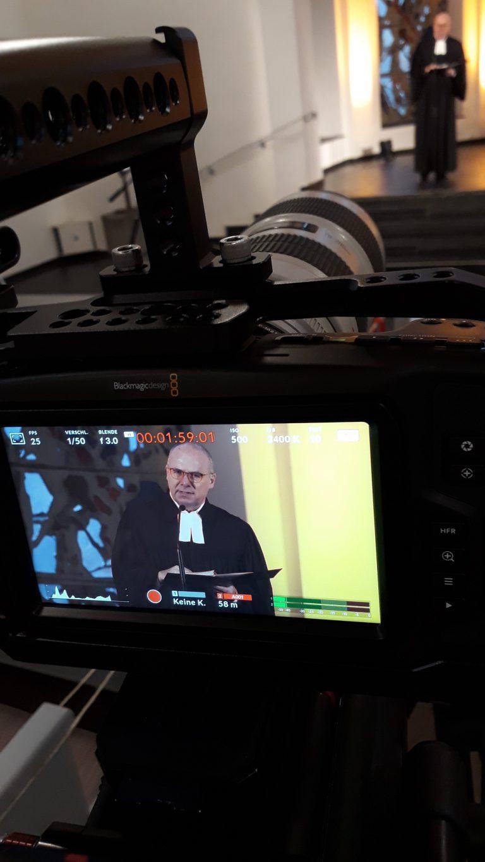 Ermittler Ingo Thiel im Online-Gottesdienst der Christuskirche