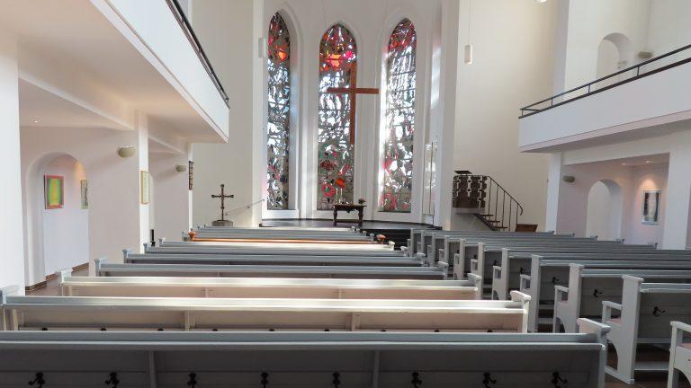 Ein Osterspaziergang durch die Christuskirche