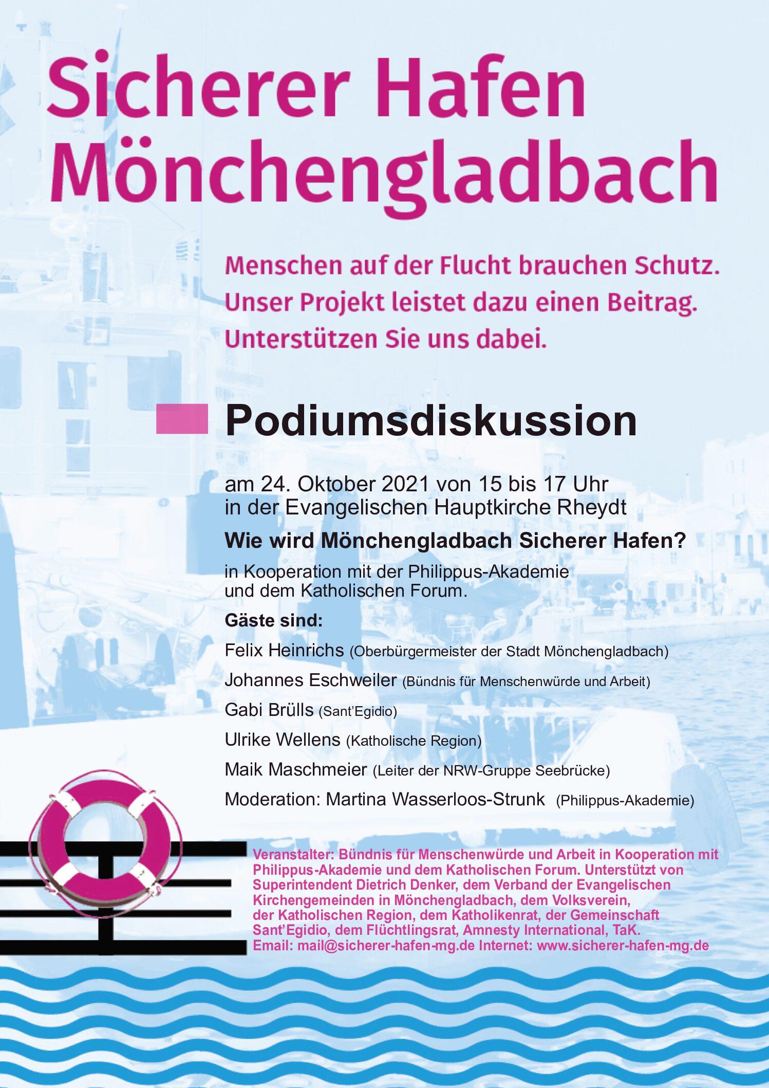 Wie wird Mönchengladbach zum Sicheren Hafen?