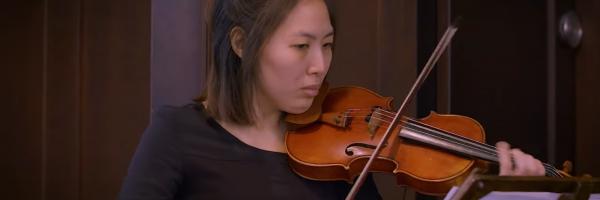 Violinenklänge in der Christuskirche